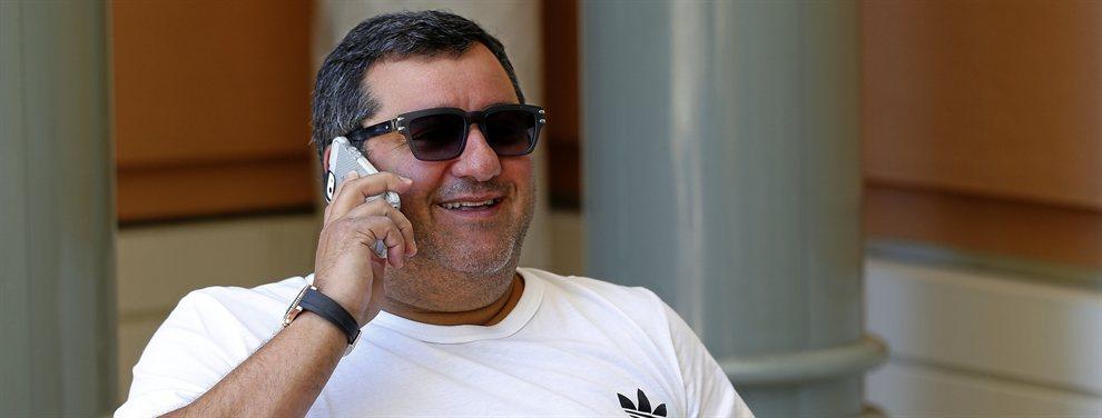 Mino Raiola ha llamado a Florentino Pérez para ofrecerle los servicios de Lorenzo Insigne