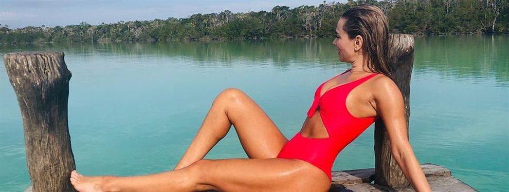 La modelo Ximena Córdoba publica el look que ha utilizado para  uno de sus trabajos sobre la pasarela.
