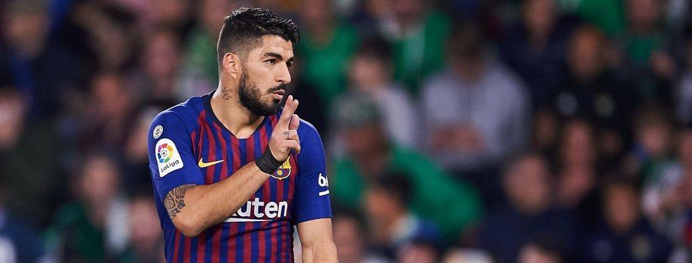 Luis Suárez ha elegido un nombre que podría ser su relevo en el Barça, Abel Ruiz