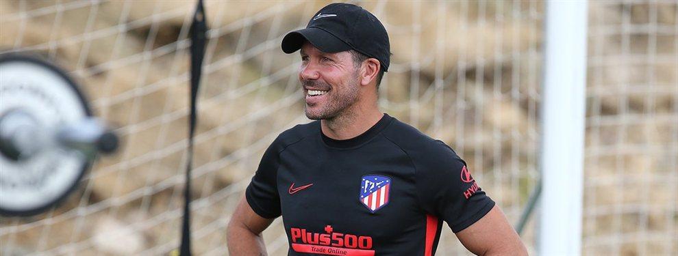 El Atlético de Madrid de Diego Pablo Simeone quiere robarle a Eriksen al Real Madrid