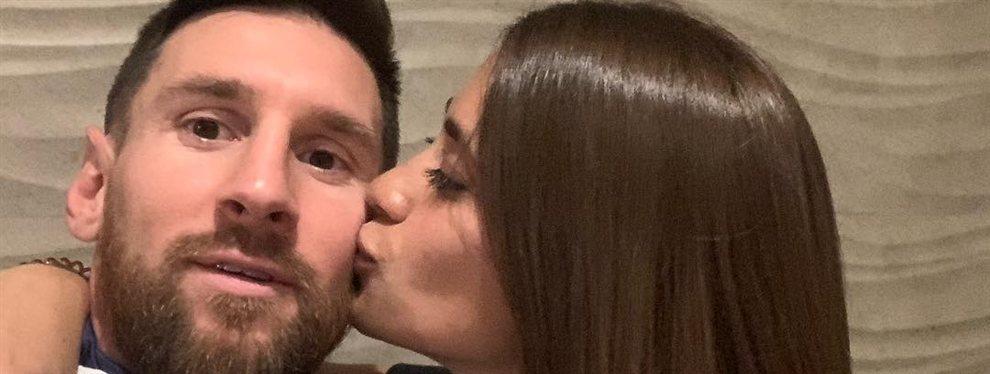 ¡Cazados! La foto más caliente (y húmeda) de Antonela Rocuzzo y Leo Messi: cuántas estrellas y calor caben en una solo fotografía