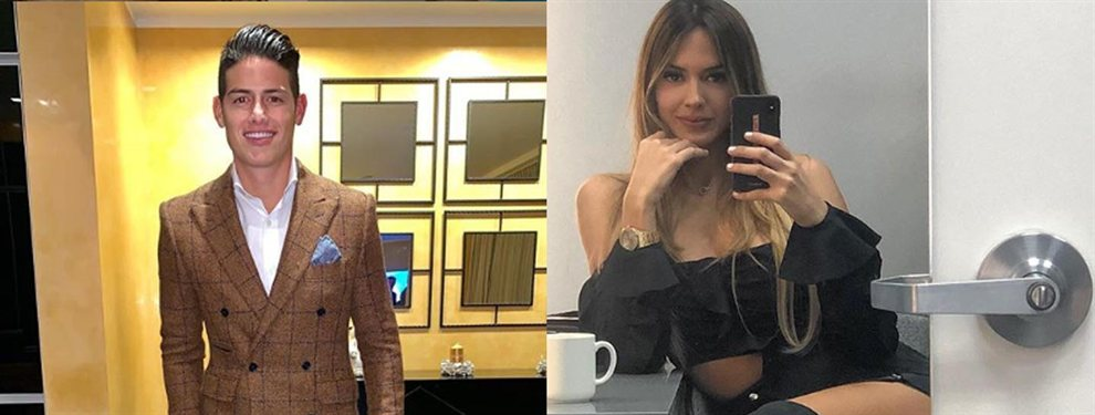 Shannon de Lima obligó a James Rodríguez a pasar por el medico para hacerse una arreglo en las cejas