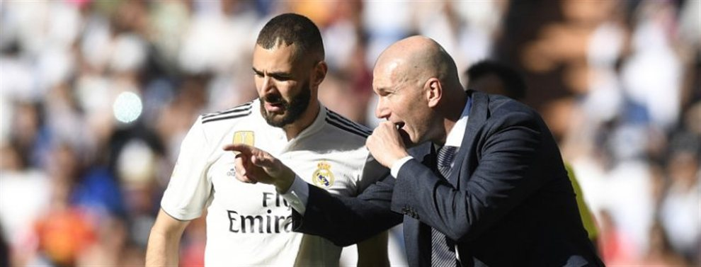Nadie en el mundo del fútbol lo esperaba, y menos el técnico del Real Madrid, Zinedine Zidane: ¡el equipo, a día de hoy, ya puede presumir de tridente!
