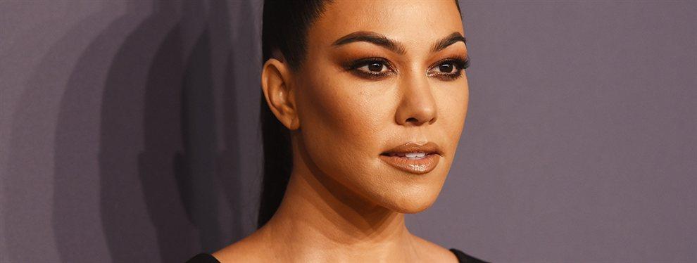 Kourtney Kardashian presumió de cuerpo con una foto recién salida de la playa en bikini