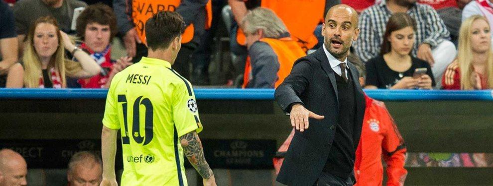 El Manchester City de Pep Guardiola se ha adelantado al Barça y se llevará a Thiago Almada