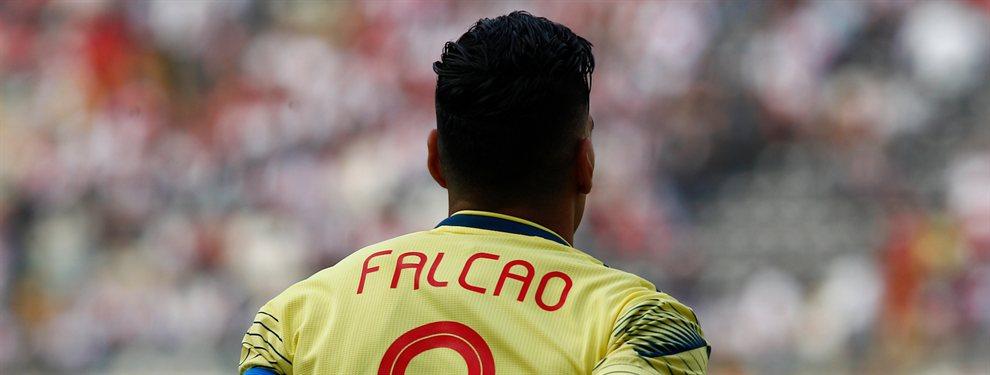 Radamel Falcao saldrá del Mónaco este verano y apunta a recalar en el Galatasaray