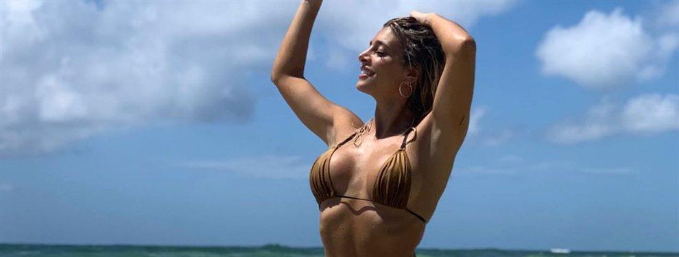La chica del tiempo Sol Pérez publica un vídeo en el que sale de una piscina con un bikini mini.