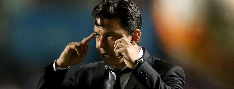 Marcelo Gallardo probó con la formación que enfrentaría a Cruzeiro por la Copa Libertadores