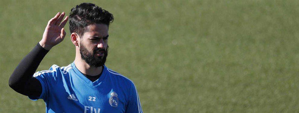 Isco tiene una oferta del Manchester United y ha pedido el oro y el moro para salir del Real Madrid