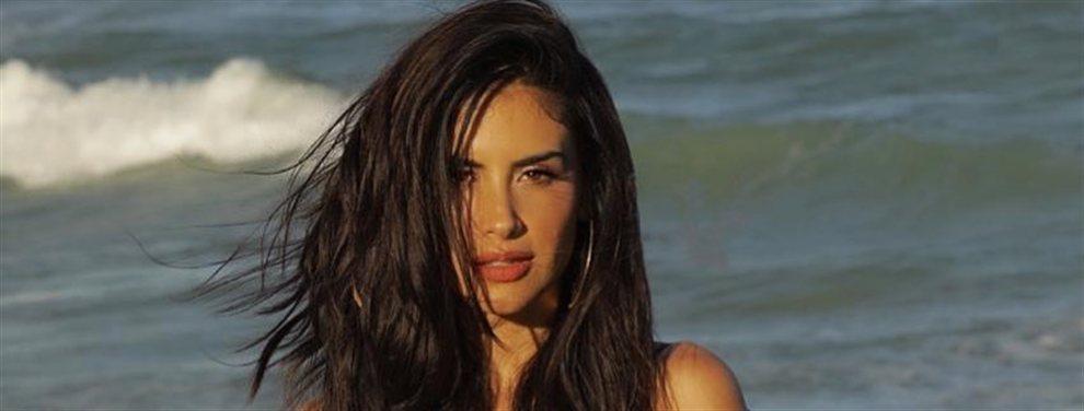 Jessica Cediel publica una fotografía en la que se puede ver que la modelo se ha puesto silicona en los labios.