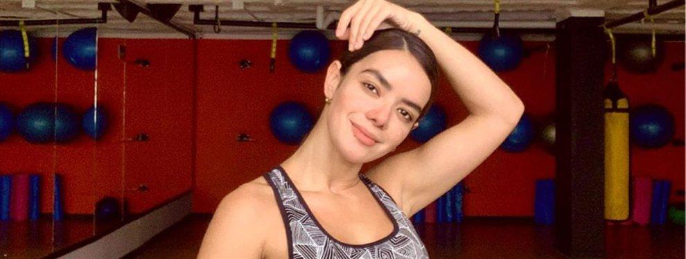 La modelo barranquillera Elianis Garrido se marca un bailecito al más puro estilo de Karol G.
