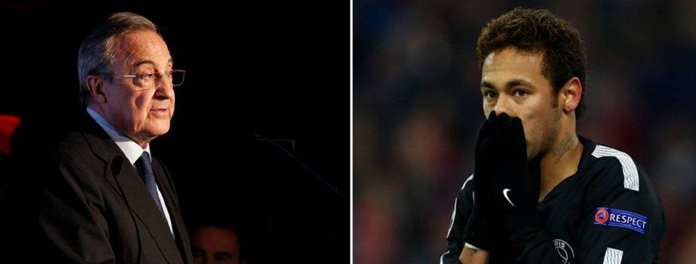 Florentino Pérez da por perdido a Neymar Junior y se centra en otra estrella: Paul Pogba