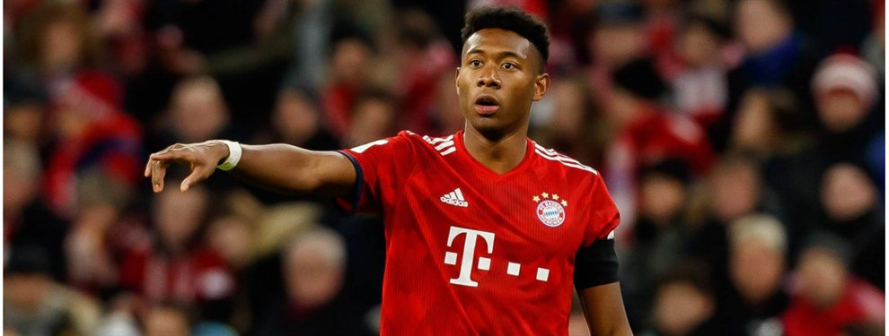 El Bayern de Múnich ha accedido a negociar por David Alaba con el Barça, pero piden a Ousmane Dembélé