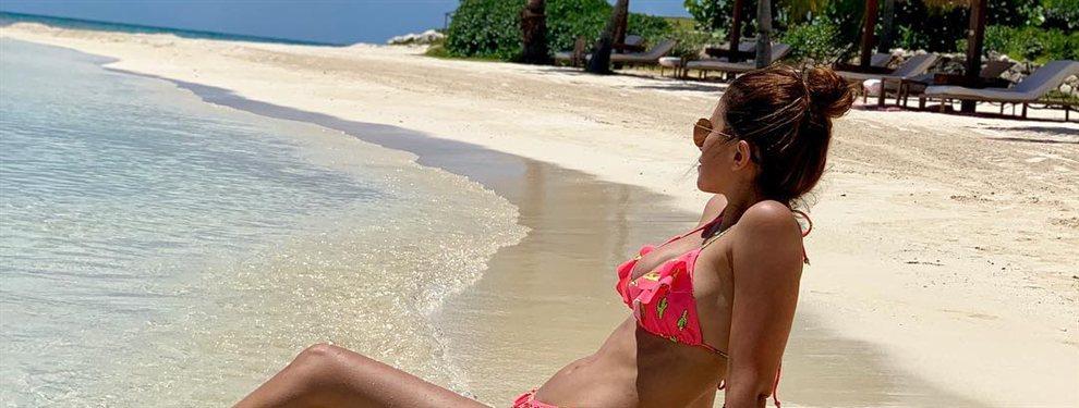 ¡Qué escándalo!: las fotografías robadas en bikini y a bordo de un yate que Antonella Rocuzzo no quiere que veas y que sorprenden hasta a Leo Messi
