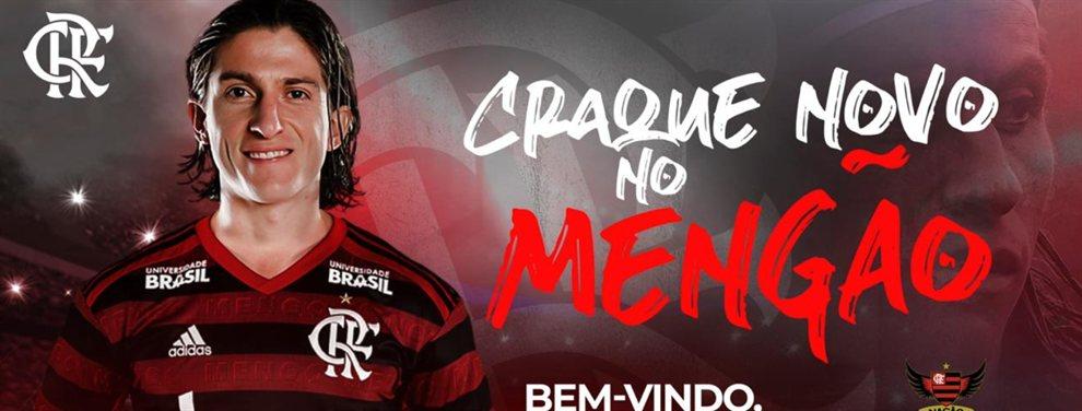 El Flamengo desea conquistar la Copa Libertadores y anunció la incorporación de Filipe Luís.