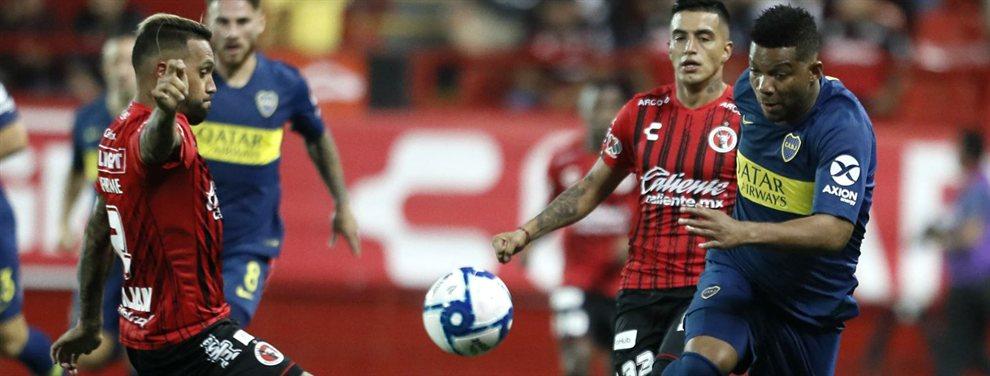 El lateral izquierdo, Frank Fabra, obtuvo la nacionalidad argentina y liberó un cupo de extranjero.