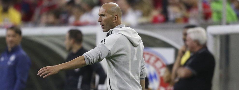 Zinedine Zidane señaló a Vinicius Junior y Nacho Fernández tras el encuentro entre el Real Madrid y el Arsenal