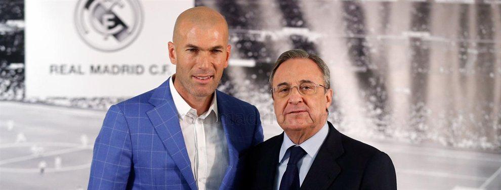 Zidane ha pedido a Florentino Pérez la llegada de un goleador, con Salah y Mané como favoritos