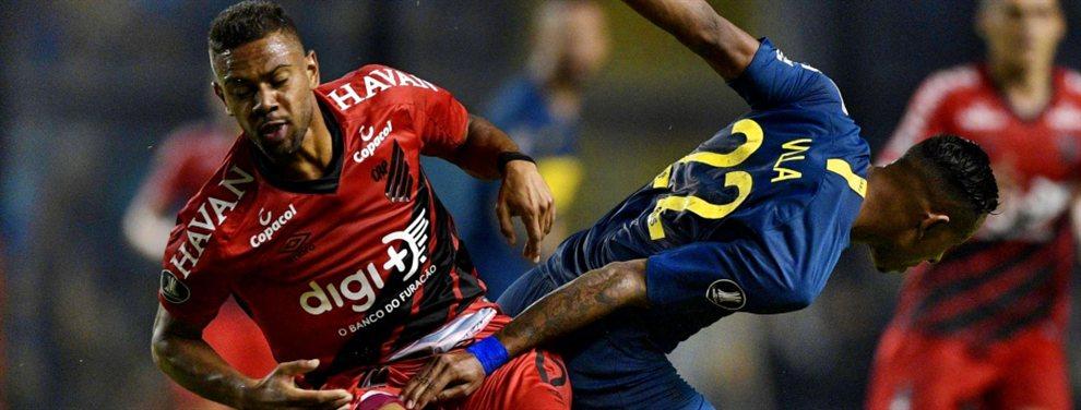 Renan Lodi fue transferido al Atlético de Madrid de Diego Simeone y respira Boca Juniors.