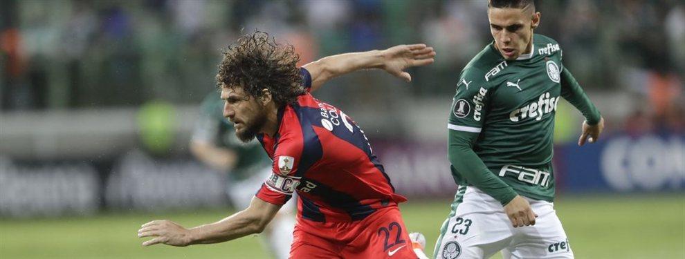 San Lorenzo recibe a Cerro Porteño en los octavos de final de la Copa Libertadores de América.