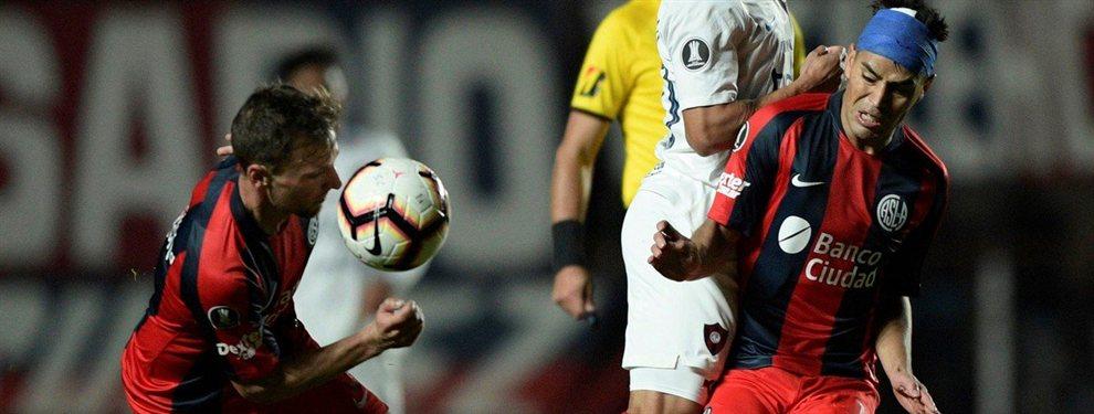 San Lorenzo y Cerro Porteño se enfrentaron en el duelo de ida de los octavos de final.