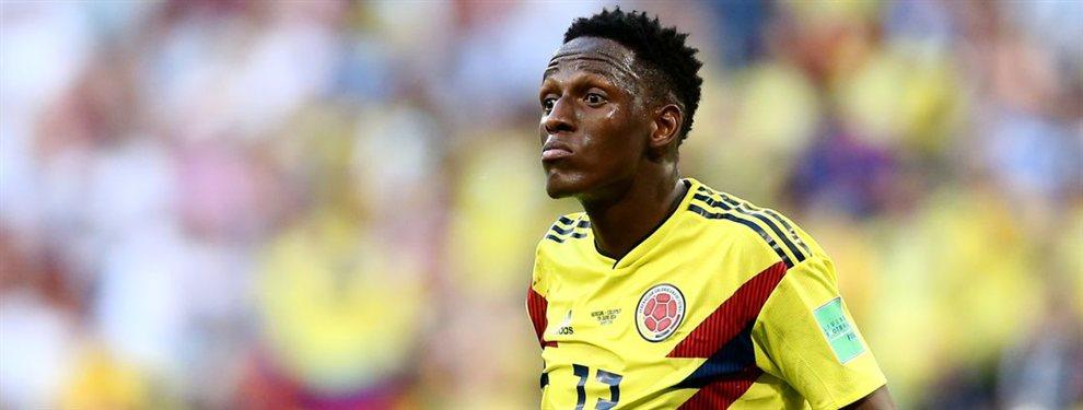 Yerry Mina puede ser sancionado por la Premier League, lo que le acerca al Valladolid