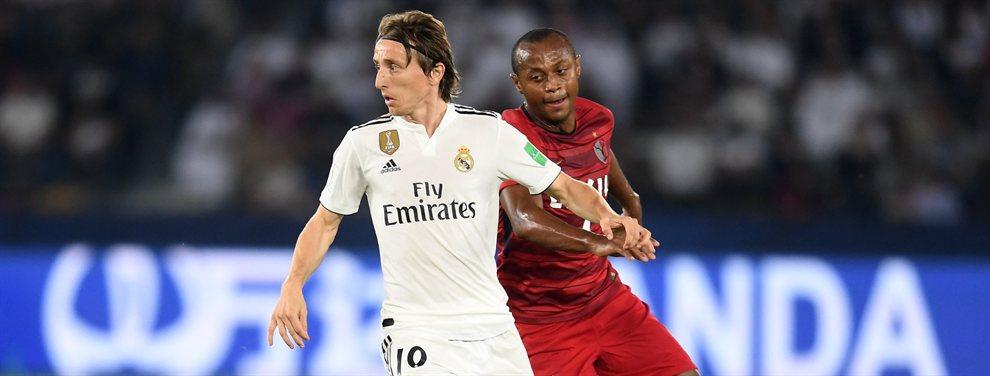 Luka Modric tuvo una enganchada con Zinedine Zidane por culpa de la situación de Bale