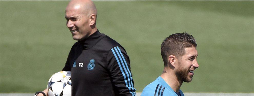 Sergio Ramos y Zinedine Zidane están empujando para que Mariano Díaz salga del Real Madrid