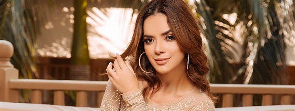 La actriz Elianis Garrido farda de abdominales con una fotografía donde parece que se baja el pantalón para enseñarlas.