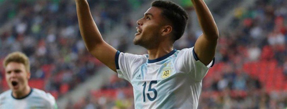 Argentinos Juniors rechazó una oferta millonaria desde la MLS por el juvenil Fausto Vera.