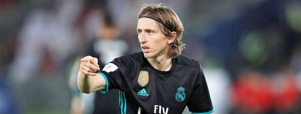 Luka Modric dejará el Real Madrid en 2020 y Florentino Pérez ya tiene tres relevos: Ceballos, Van de Beek y Fabián Ruiz