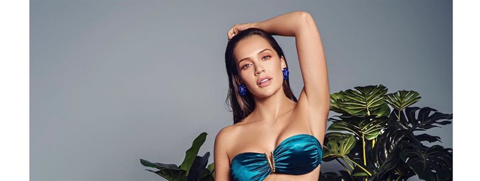 La modelo Lina Tejeiro se machaca a base de bien en el gimnasio para luego lucir un cuerpo como el que tiene.
