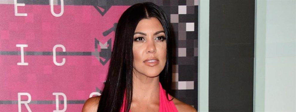 Unas fotos de Kourtney Kardashian sin maquillaje han dado la vuelta al Mundo en las últimas horas