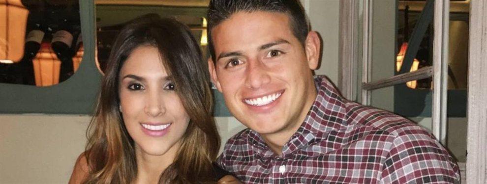 Daniela Ospina y James Rodríguez han variado en cuanto a estética y conducta en los últimos años.