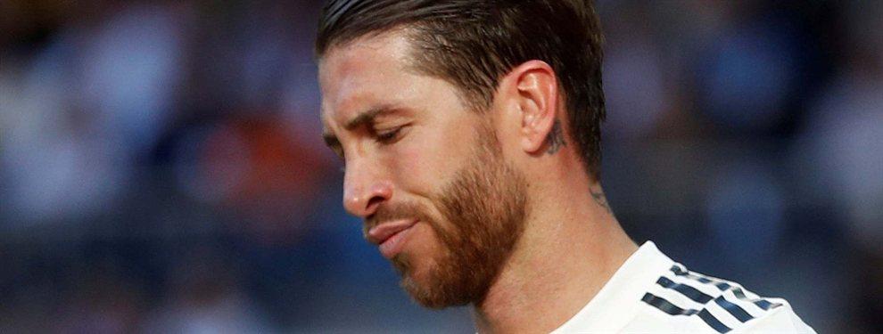 Sergio Ramos le recriminó a Zidane por no saber mover los fichajes durante el verano.