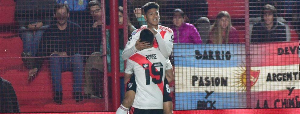 En el inicio de la Superliga, River igualó 1 a 1 sobre el final del encuentro con Argentinos Juniors.