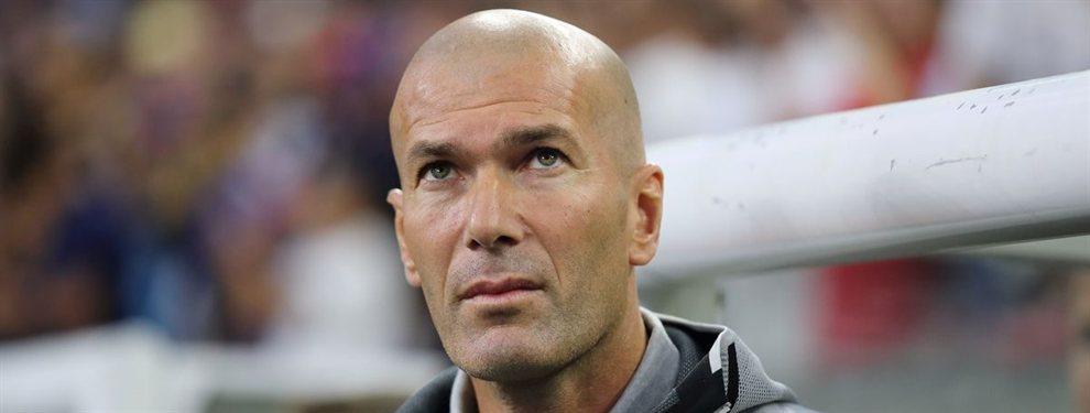 Zinedine Zidane sabe que su prestigio está en juego y que tiene que tomar decisiones.