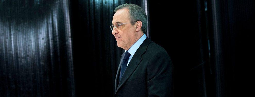 Florentino Pérez ha encontrado destino a Mariano Díaz, que firmará por el Mónaco