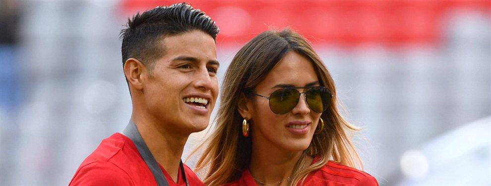 En el Real Madrid ya saben lo que se dice de James Rodríguez y Shannon de Lima, y no es nada bueno