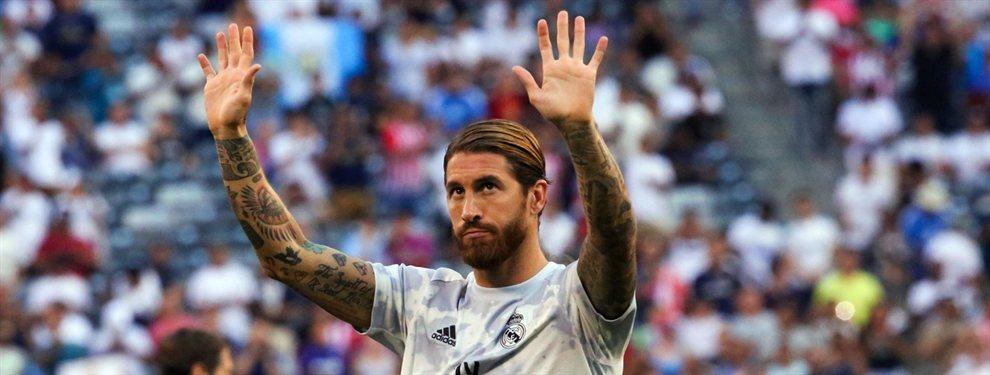 Sergio Ramos ha señalado a Eden Hazard y le ha transimitido sus dudas a Florentino Pérez