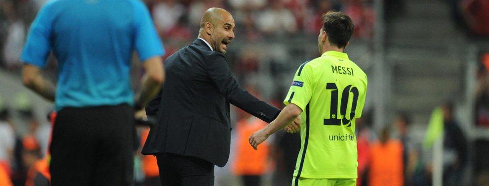 Pep Guardiola le ha mandado una indirecta a Leo Messi, asegurando que Phil Foden es el jugador más talentoso que ha visto
