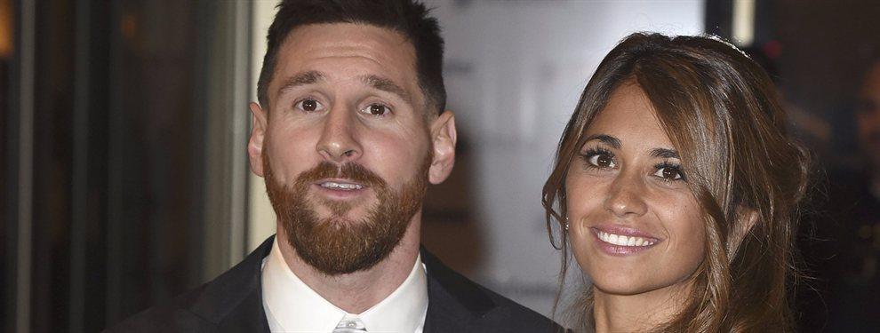 Antonella Roccuzzo publicó una foto junto a Leo Messi en la que se le ve más gorda. Y muchos especulan con su embarazo...