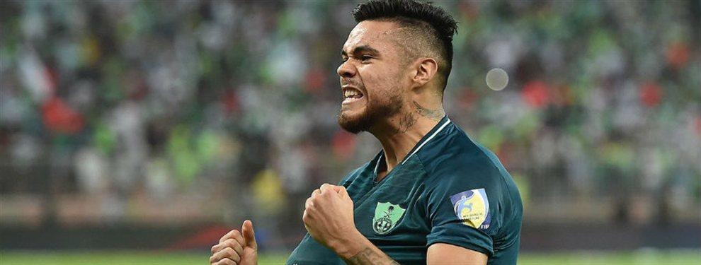 En la previa a la visita al Cruzeiro por la Copa Libertadores, River le realizó una oferta final al Al Ahli por Paulo Díaz.