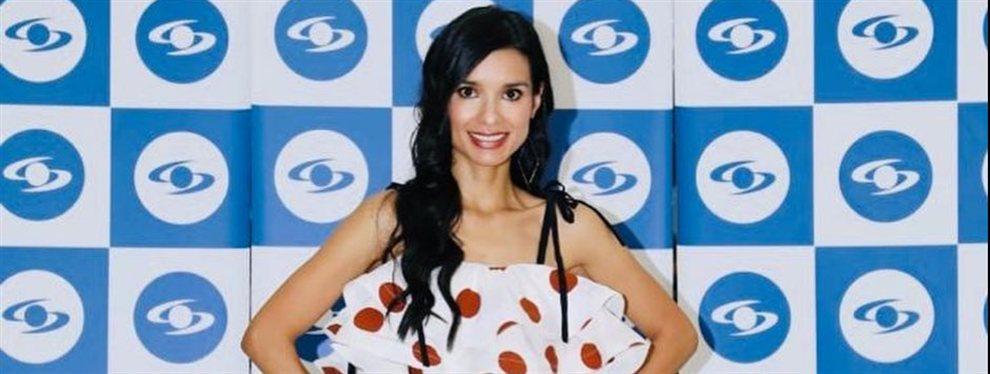 La actriz Paola Rey aparece en una publicación con un extra de Photoshop que la hace irreconocible.