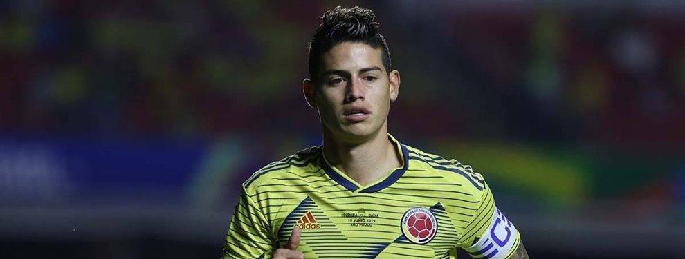 James Rodríguez aún no tiene su futuro en el Real Madrid asegurado y ha recibido una oferta