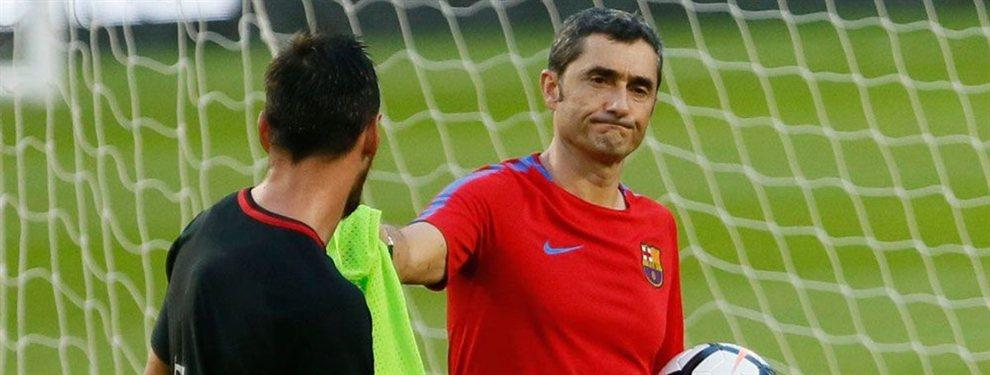 Ernesto Valverde quiere retener a Rafinha Alcántara, mientras que Leo Messi lo quiere fuera