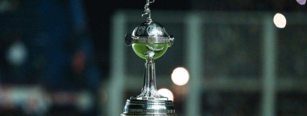 A falta de definir una serie, así están los cruces de cuartos de final de la Copa Libertadores.