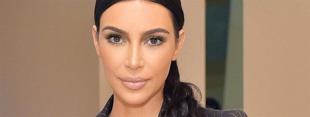Kim Kardashian generó revuelo con su última instantánea, en la que aparece enseñándolo todo