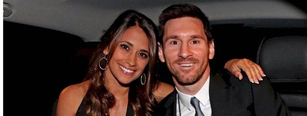 Antonella Roccuzzo publicó un nuevo video en una limosina, rodeada de Leo Messi, Sofía Balbi, Daniela Semaan...