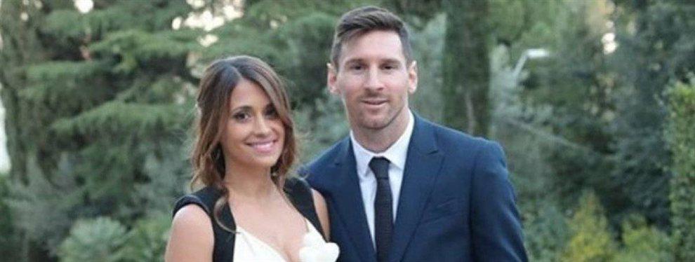 Lionel Messi sigue disfrutando de sus merecidas vacaciones de verano acompañado de su bella esposa Antonella Roccuzzo.